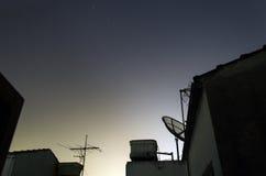 Incrocio del sud con Alpha Centauri Immagine Stock Libera da Diritti