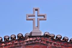 Incrocio della chiesa Fotografia Stock Libera da Diritti