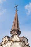 Incrocio della chiesa di Krestovozdvizhensky in Tobol'sk Fotografia Stock Libera da Diritti