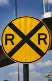 Incrocio di ferrovia Immagine Stock Libera da Diritti