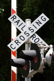 Incrocio di ferrovia Immagini Stock Libere da Diritti