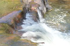 Incrocio di fiume fotografia stock