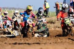 Incrocio di Moto Fotografia Stock