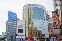 Incrocio di Shibuya, Tokyo Fotografie Stock Libere da Diritti