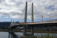 Incrocio di Tilikum - Portland, Oregon Immagini Stock