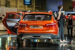 Incrocio Lada Vesta Cross Concept Immagine Stock