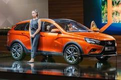 Incrocio Lada Vesta Cross Concept Immagini Stock