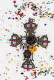 Incrocio religioso Fotografia Stock Libera da Diritti