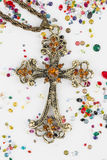 Incrocio religioso Fotografie Stock Libere da Diritti