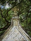 Incrocio sopra una tomba 2 Immagine Stock Libera da Diritti