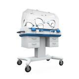 Incubadora moderna do bebê Foto de Stock