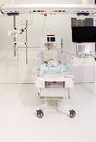 Incubator in the hospital. Baby incubator in the hospital Stock Images