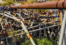 Incubo dell'idraulico Immagini Stock