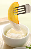 Incuni in crema acida Fotografia Stock