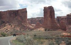 Incurva il parco nazionale, Utah, U Fotografie Stock