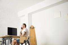 Indépendant avec beaucoup de passe-temps fonctionnant à la maison réglé Image stock