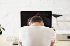 Indépendant avec beaucoup de passe-temps fonctionnant à la maison réglé Image libre de droits