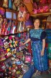 Indígenas del maya Fotografía de archivo