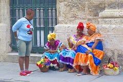 Indígenas en La Habana, Cuba Fotos de archivo libres de regalías