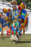 Indígenas inaugurales del ` s de la celebración 2018 del día imagen de archivo libre de regalías