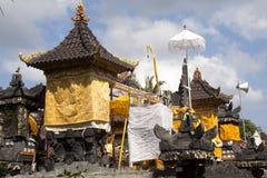 Indù del tempio delle pagode, ful lunedì, Nusa Penida, Indonesia di spirito Immagini Stock Libere da Diritti