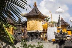 Indù del tempio delle pagode, ful lunedì, Nusa Penida, Indonesia di spirito Fotografie Stock Libere da Diritti