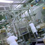 Indústria alimentar fotografia de stock