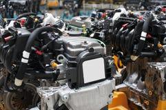Indústria automotriz - motores Fotografia de Stock Royalty Free