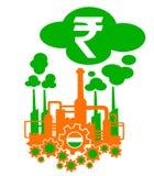 Indústria da Índia Fotografia de Stock Royalty Free
