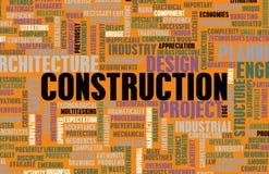 Indústria da construção civil ilustração stock