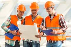 Indústria da construção civil foto de stock