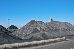 Indústria de carvão fotografia de stock