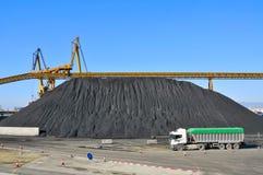 Indústria de carvão imagem de stock royalty free