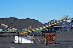 Indústria de carvão fotos de stock royalty free