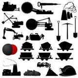 Indústria de carvão ilustração stock