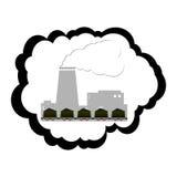 Indústria de carvão Foto de Stock