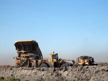 A indústria de carvão nas pradarias Imagens de Stock