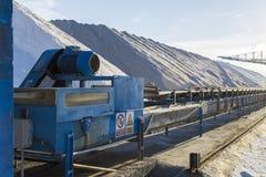 Indústria de mina de sal Fotografia de Stock Royalty Free