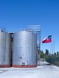 Indústria de vinho no Chile imagens de stock royalty free