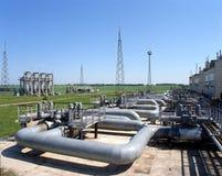 Indústria do gás Fotos de Stock