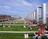Indústria do gás Imagens de Stock Royalty Free