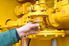 Indústria do gás fotografia de stock royalty free