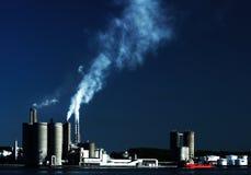 Indústria do porto Imagem de Stock Royalty Free