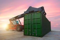 Indústria do transporte do transporte e da logística fotografia de stock