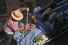 Indústria do turismo Venetian foto de stock