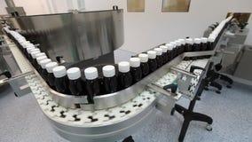Indústria farmacêutica video estoque