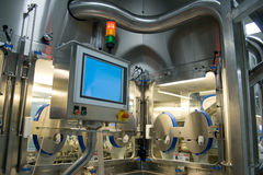 Indústria farmacêutica Fotografia de Stock