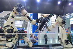 Indústria internacional 2014 justo de China imagens de stock