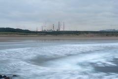 Indústria litoral Imagens de Stock Royalty Free