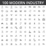 Indústria, logística, planta, armazém, fábrica, engenharia, construção, distribuição, fabricação, industrial pesado ilustração royalty free